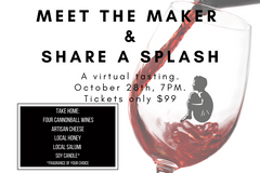 Meet the Maker & Share a Splash!