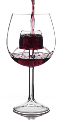 Stemmed Fountain Aerating Wine Glass Set