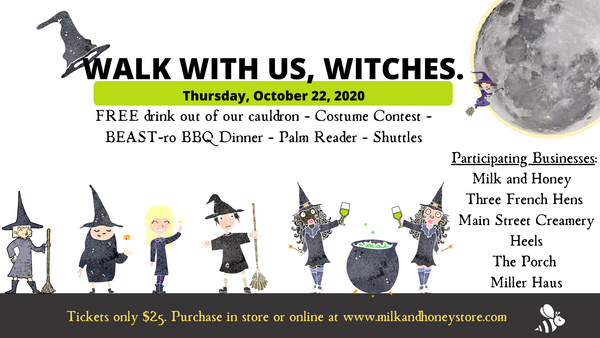 Witch Walk - October 22, 2020 - 5-9pm