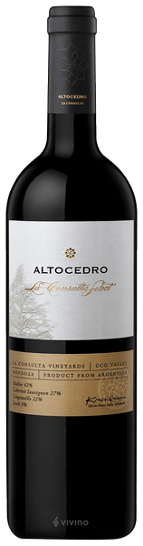 Altocedro La Consulta Select Red Blend - Take Home Bottle