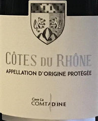 Cave La Comtadine Côtes Du Rhône- Take Home Bottle