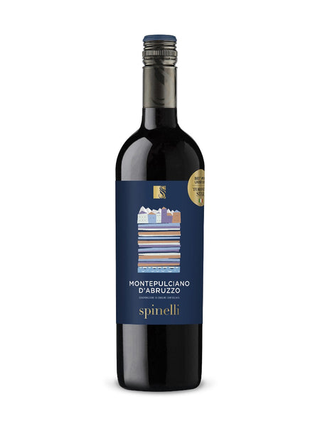 Spinelli Red Wine from Montepulciano D'Abruzzo - Take Home Bottle