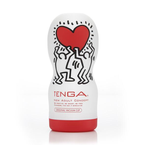 TENGA Deep Throat Keith Haring Edition | Male Sex Toy | www.tenga.co.uk