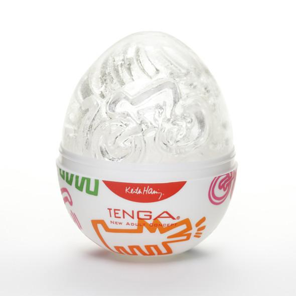 TENGA EGG - Keith Haring Edition Street  | Male Sex Toy | www.tenga.co.uk
