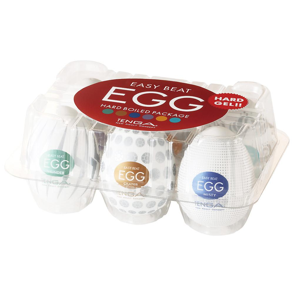 Hard Boiled | Six Pack | TENGA EGG - www.tenga.co.uk