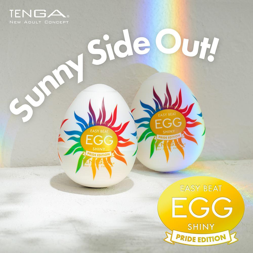 TENGA EGG - Shiny Pride Edition | Male Sex Toy | www.tenga.co.uk