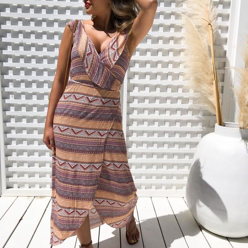 Aztec wrap dress the most manski and schi