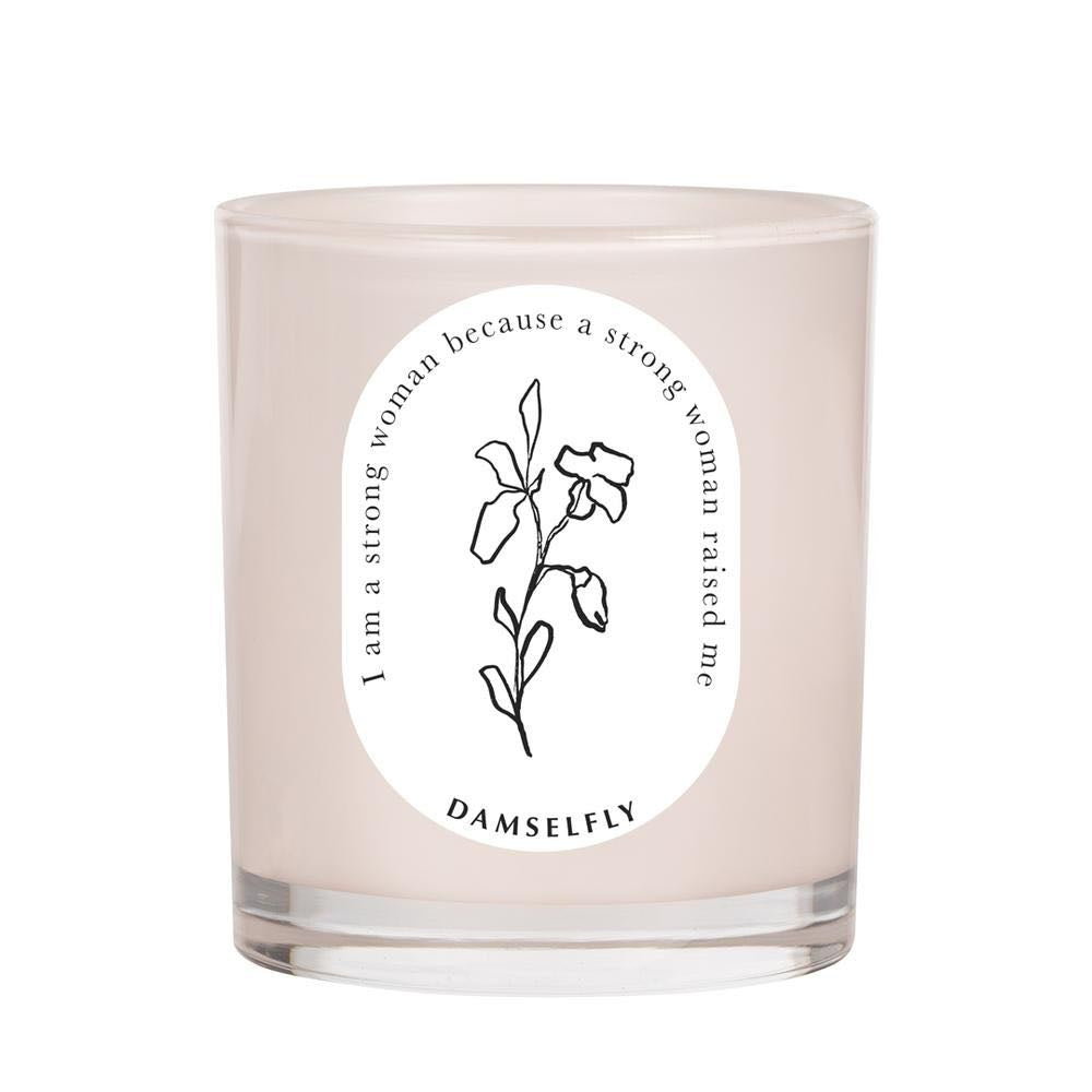 Strong Woman candle damselfly manski and schi