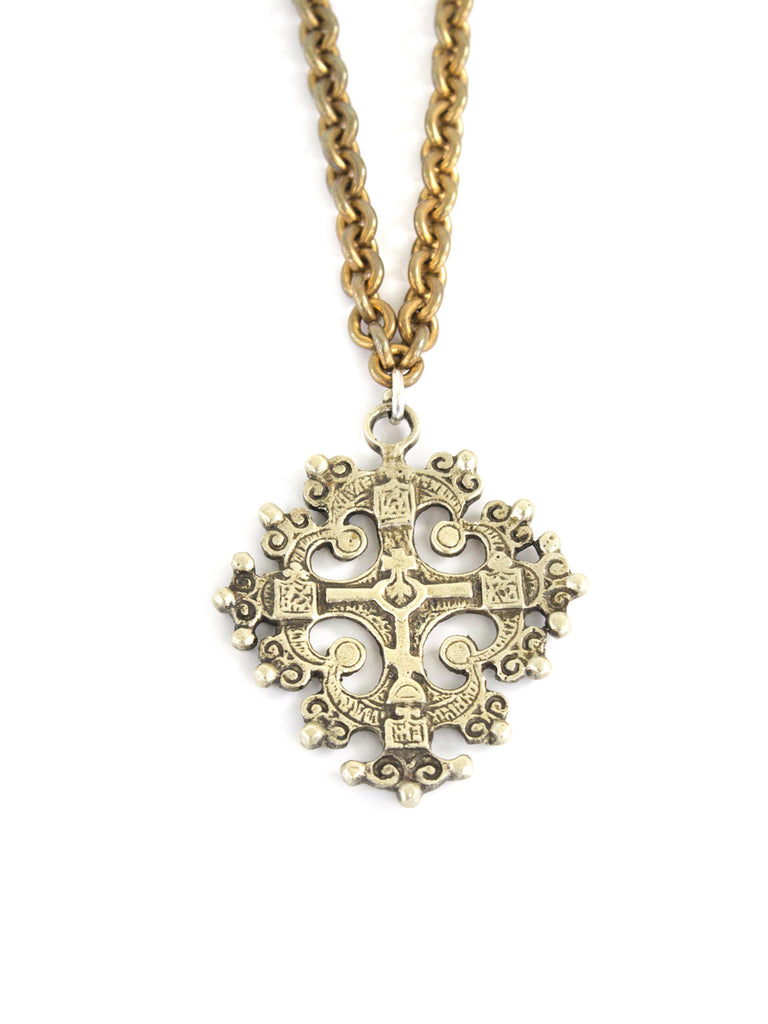 """Cross of Strength"" Necklace - SOLD"