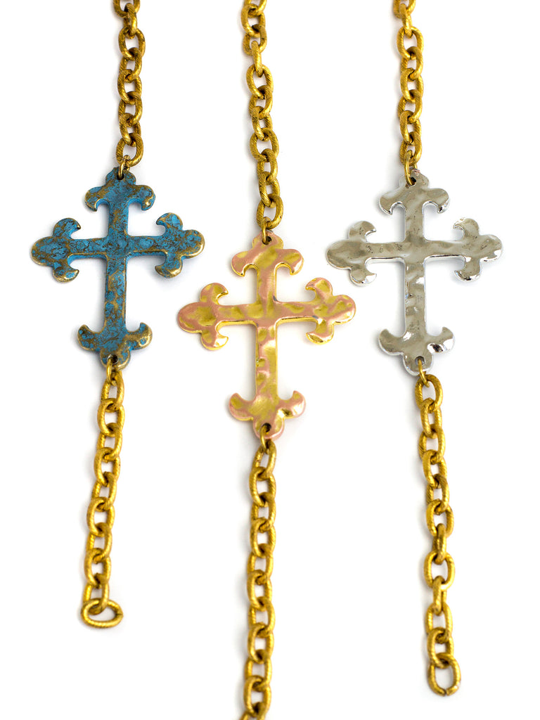 2016 Allison - Golden - Verdigris Cross