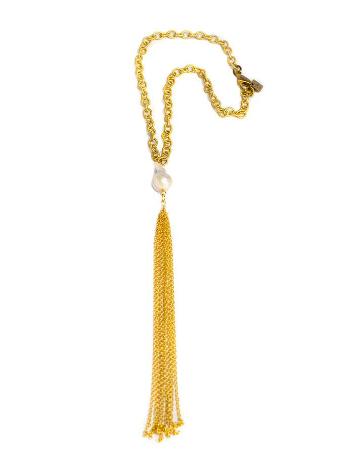 2016 Chandler Necklace - Matte Gold