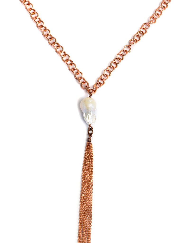 Chandler Necklace - Rose Gold
