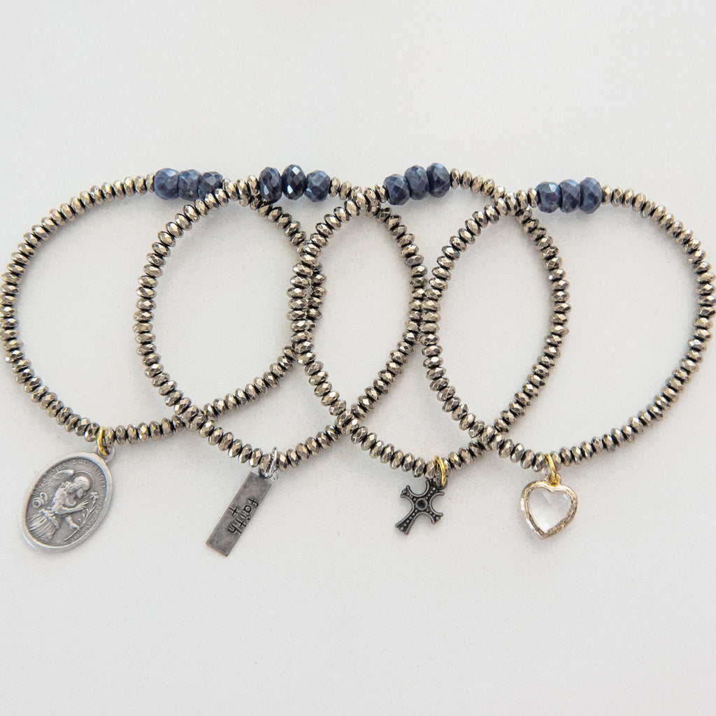 """Mini"" Blessings Bracelets (PYRITE)"
