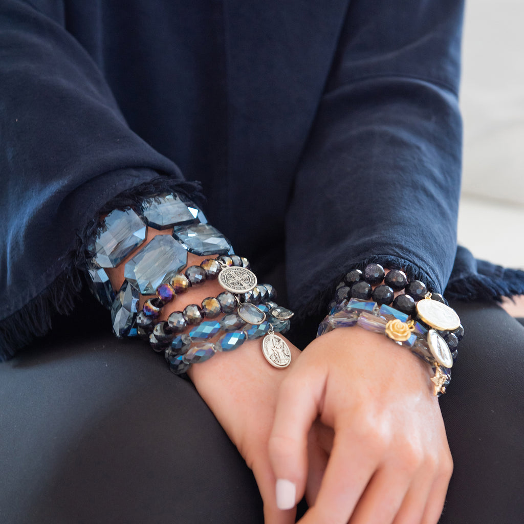 SOLD OUT City Lights Bracelet (DENIM)