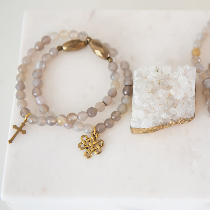 """Mini"" Blessings Bracelets (HAZE)"