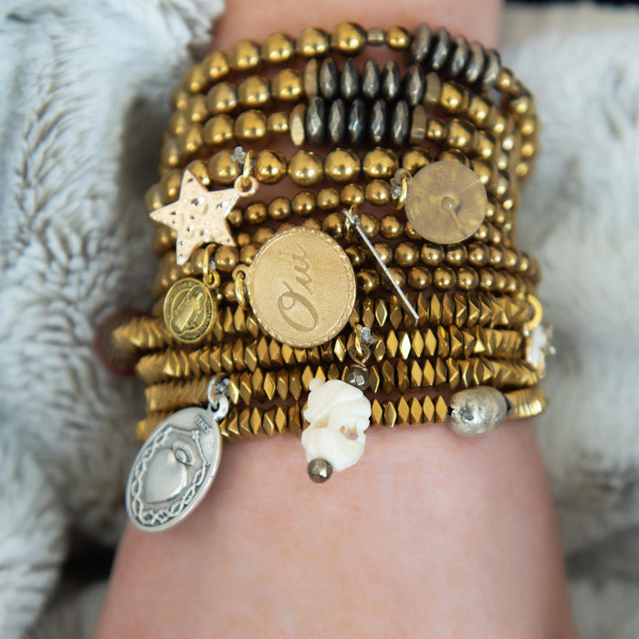 """Mini"" Blessings Bracelets (GOLD)"