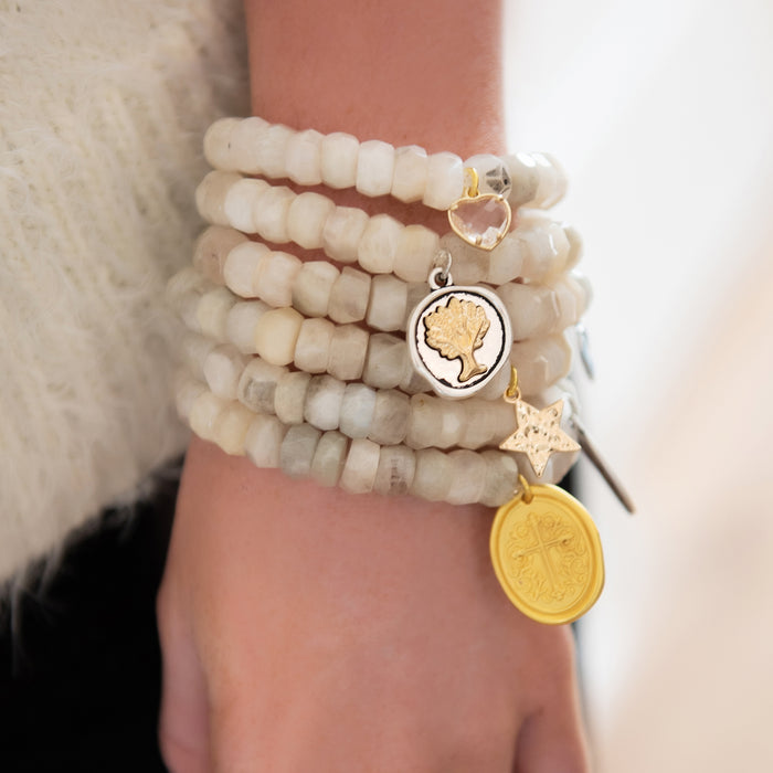 Winter White Blessings Bracelet