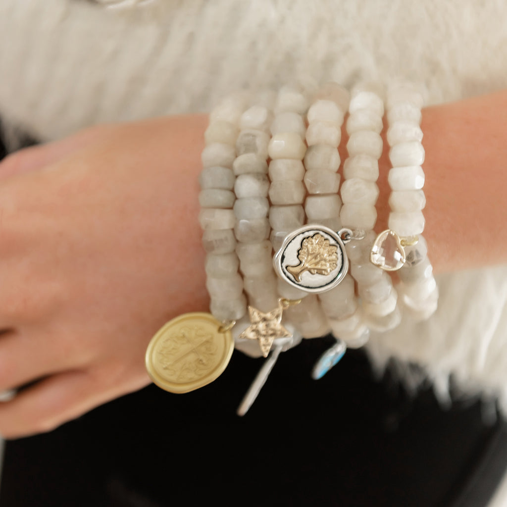 Winter White Blessings Bracelet (SOLD OUT)