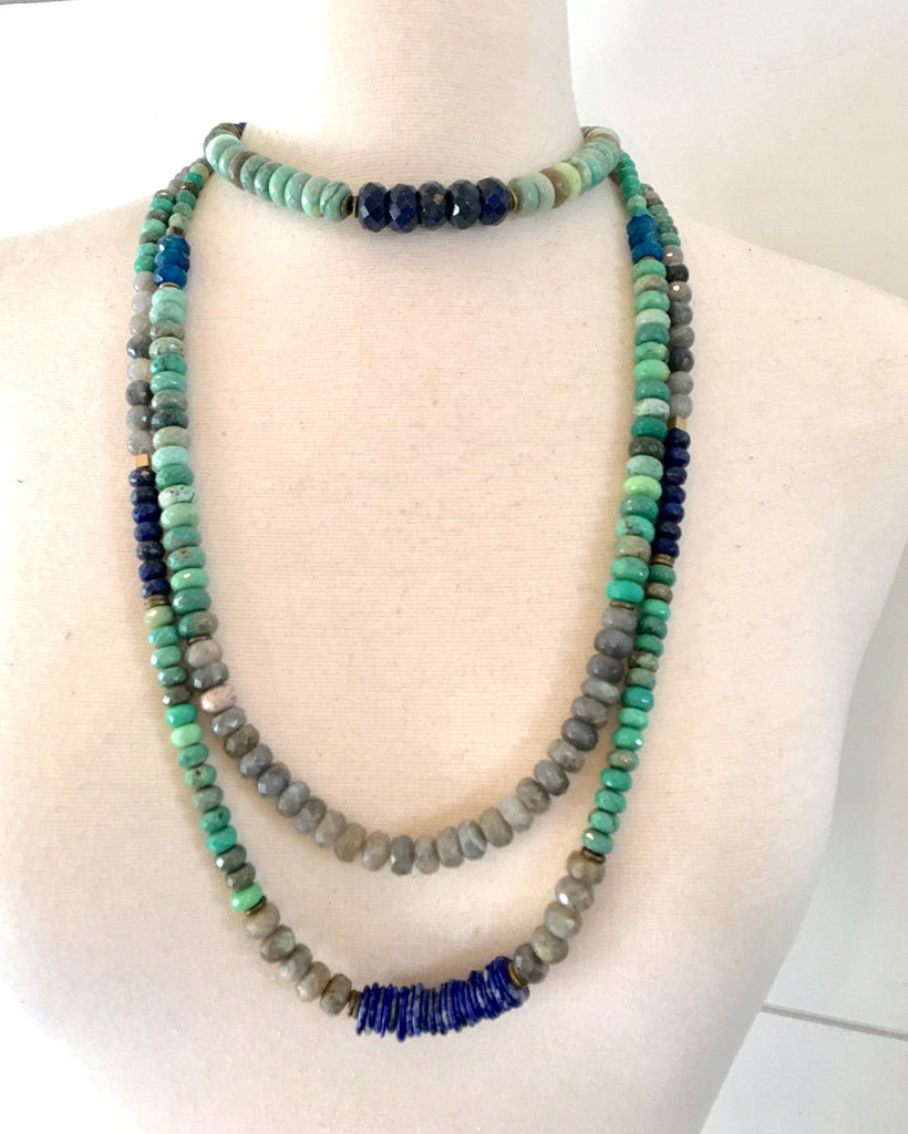 """Mediterranean Sea"" Necklace"