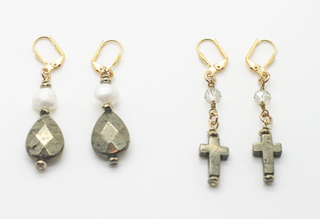 Ava & Opal Earrings
