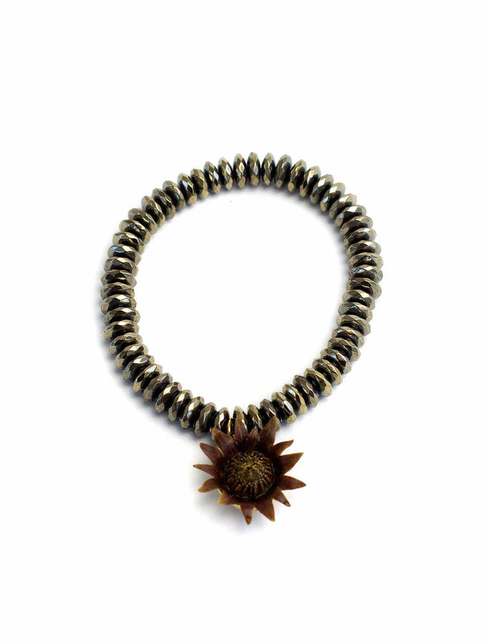 Blessings Blossom™ - Pyrite Rondelle