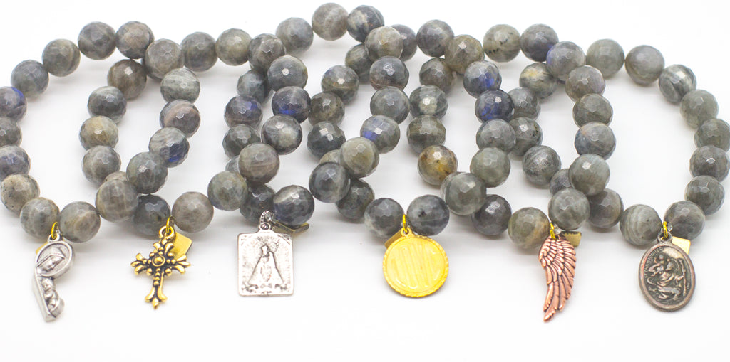 Grey Blessings Bracelet