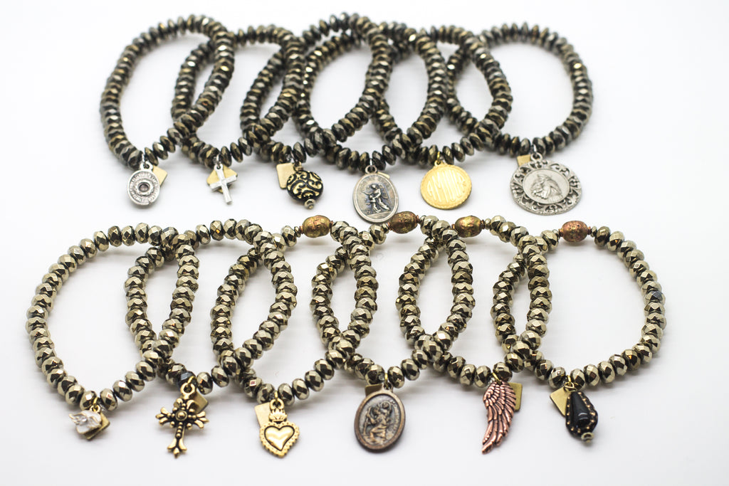 Pyrite Blessings Bracelet