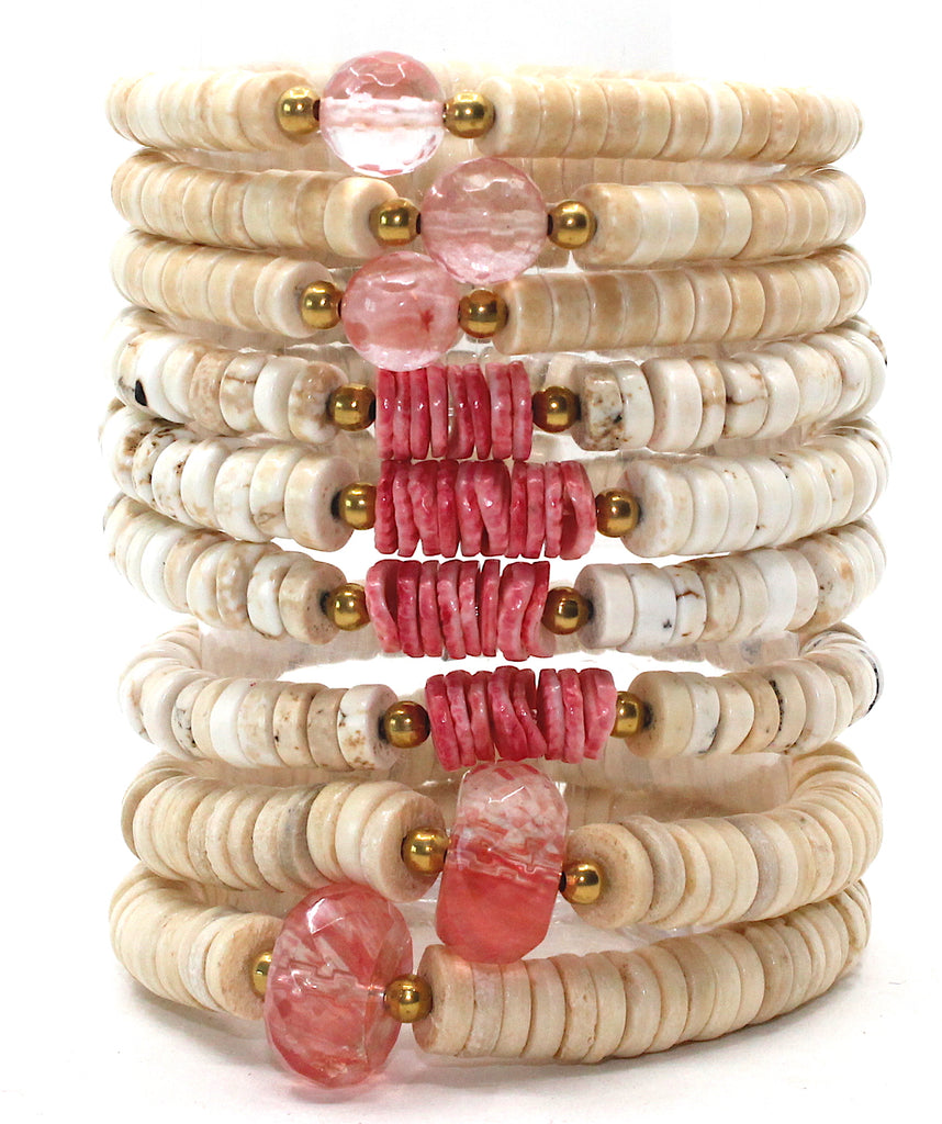 Island Collection(Coral Pink) Blessings Bracelet™