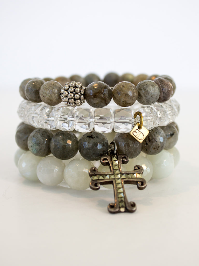 """Graceful Grey"" Stack - SOLD"