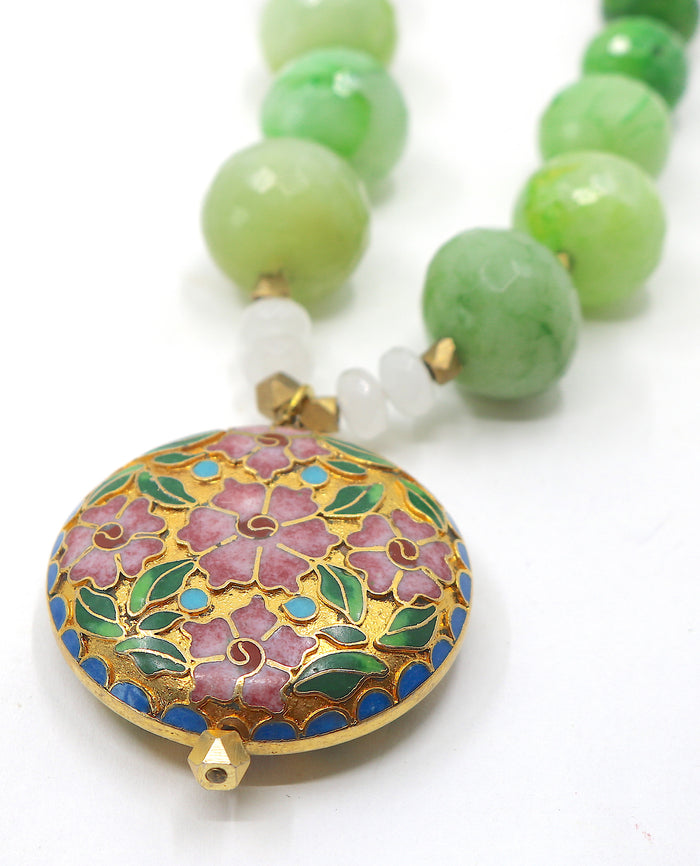 """Fields of Green"" Necklace"