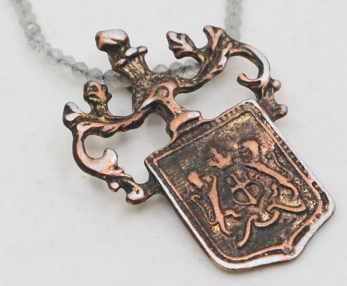 """Crest Of Faith"" Necklace"