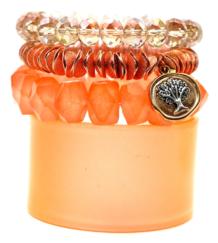"""Orange Crush"" Stack"