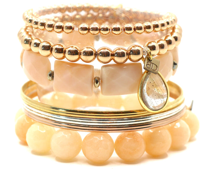 """Peaches & Cream"" Stack"