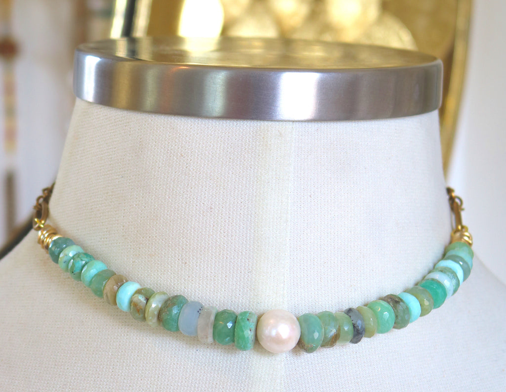 """Emerald Waters"" Necklace"