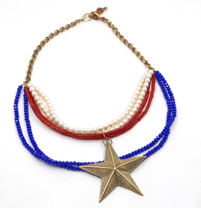 """Patriot"" Necklace"