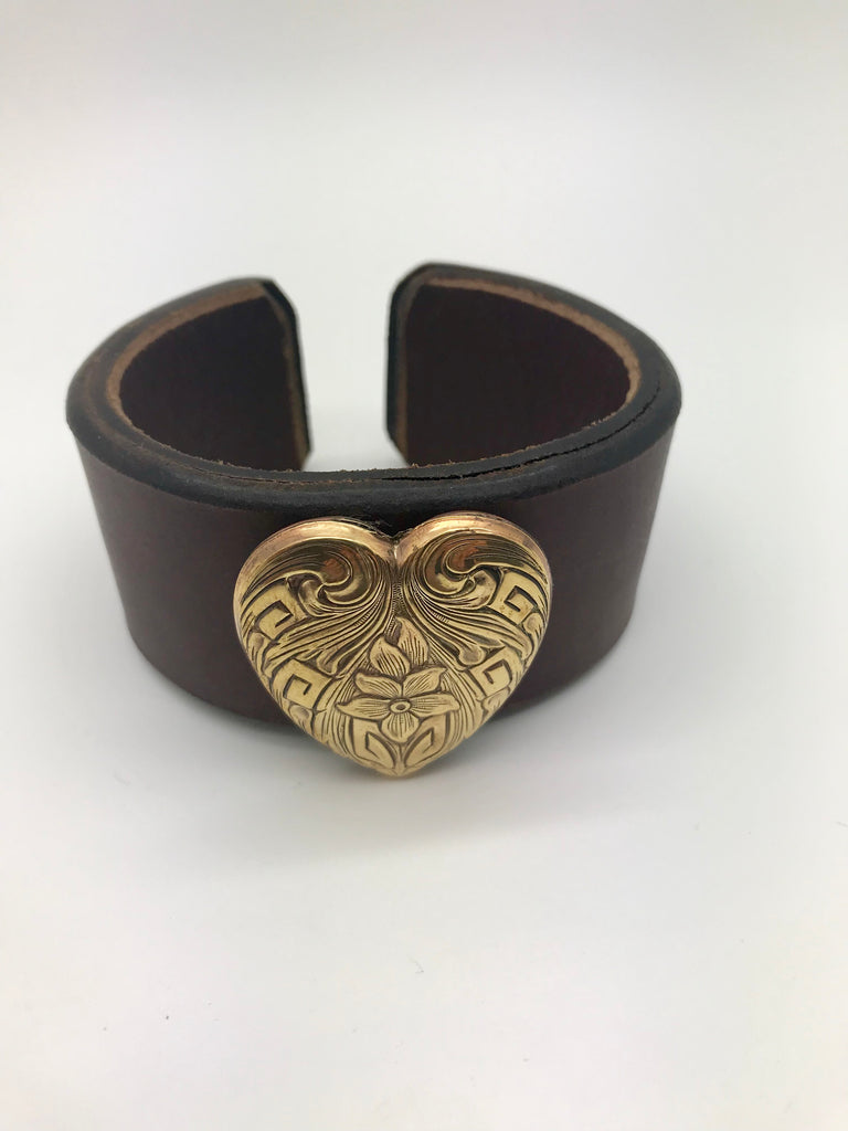 Paige Leather Cuff