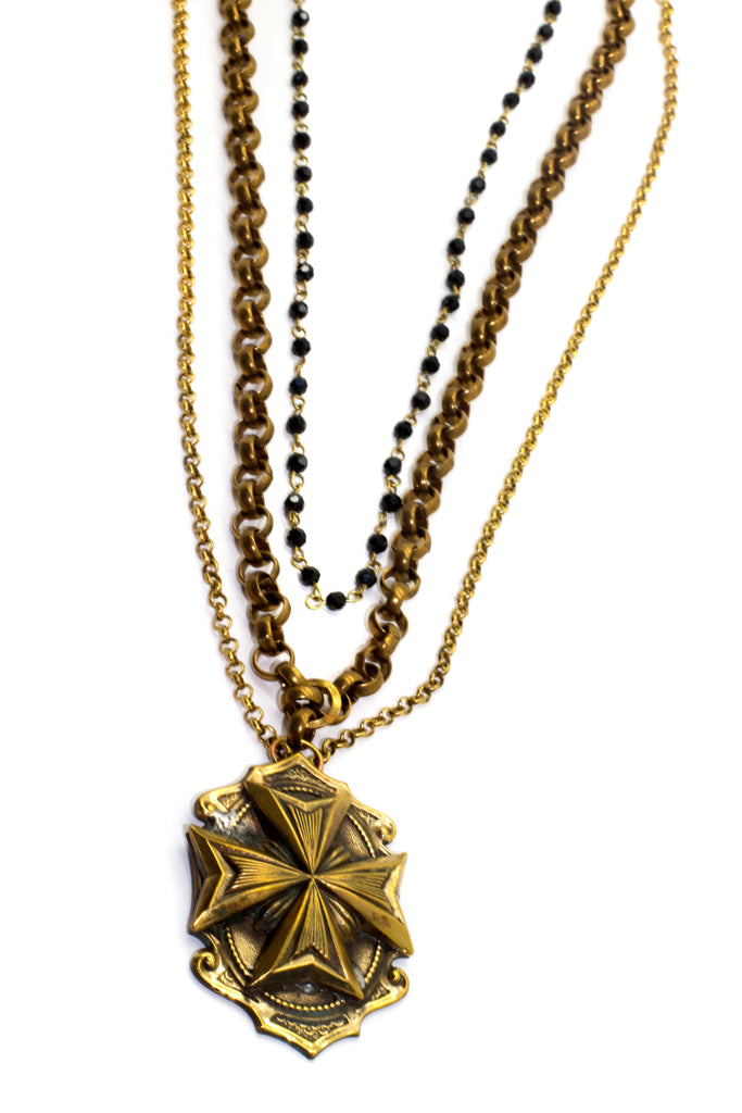 Jordyn Necklace (Cross)