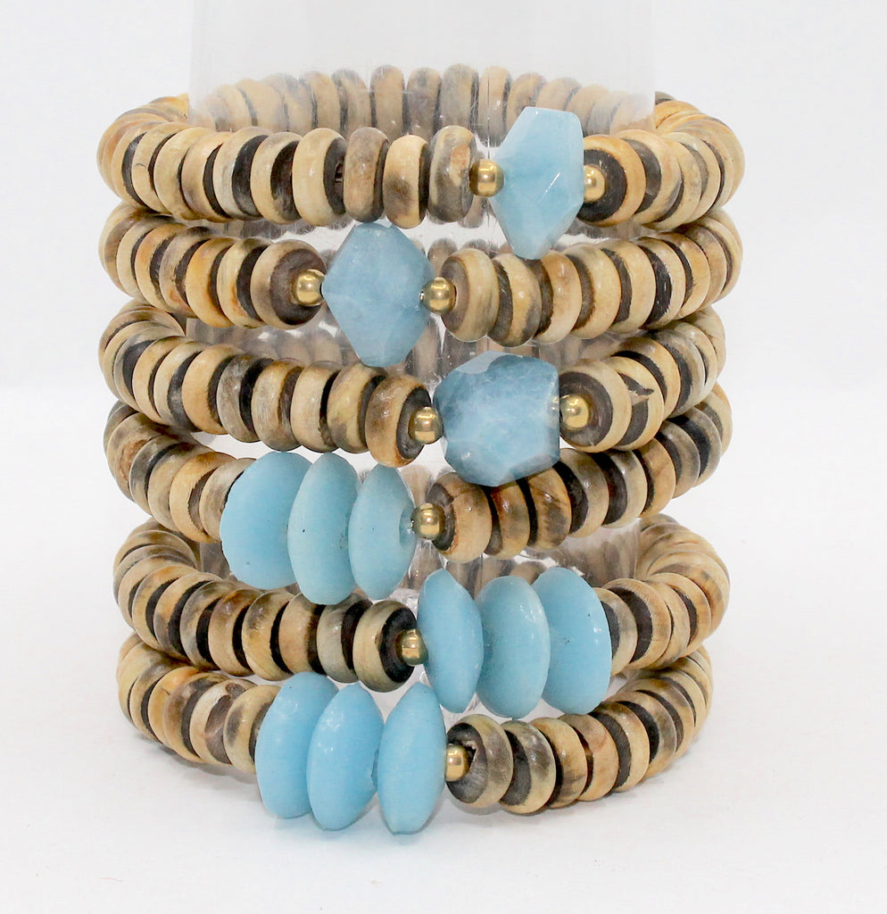 Island Collection(Sky Blue) Blessings Bracelet™