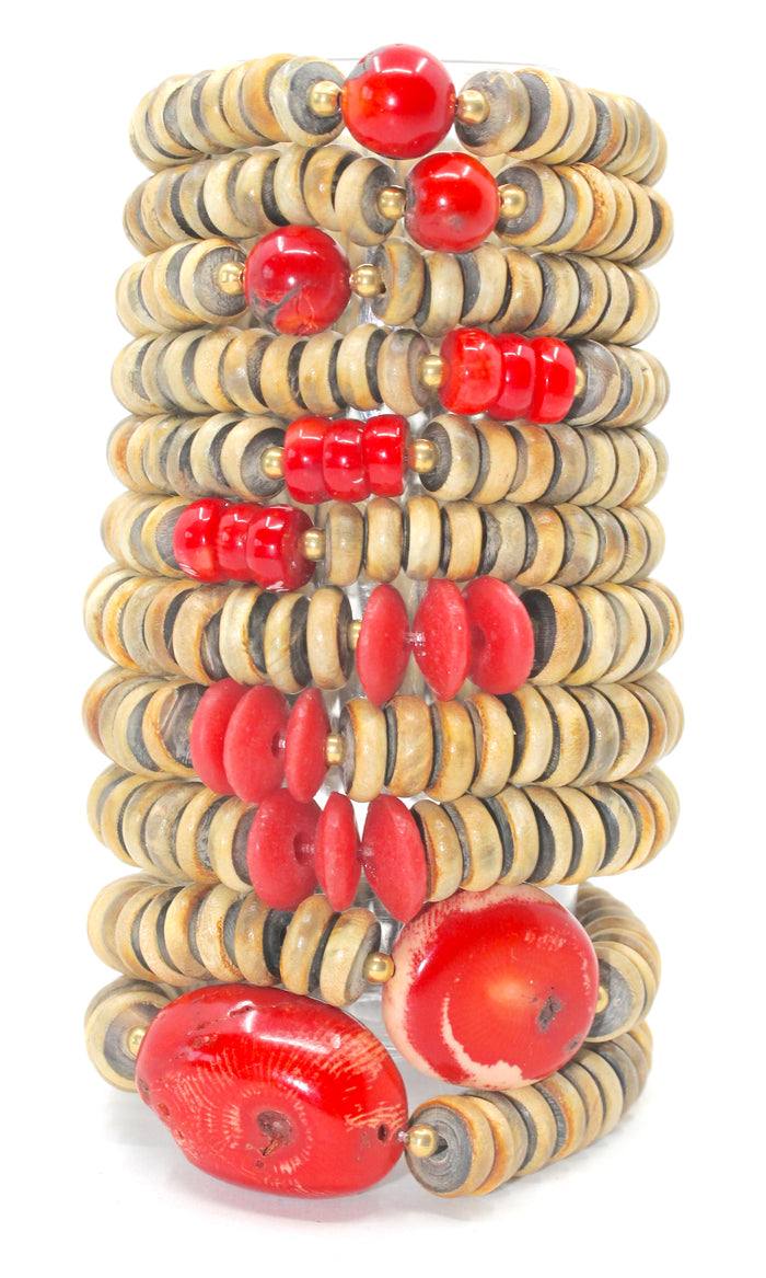Island Collection(Red Coral) Blessings Bracelet™