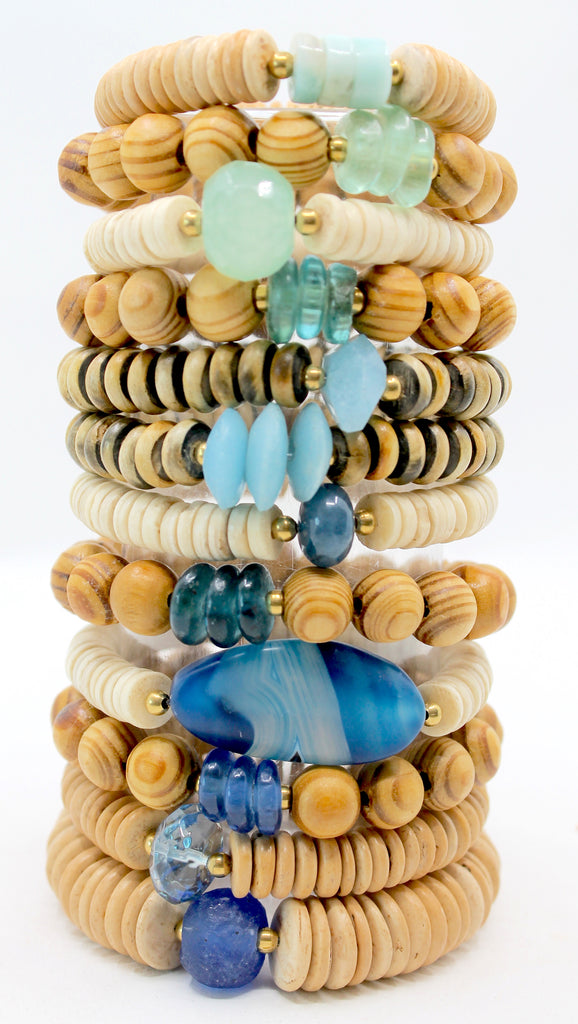 Island Collection(Ocean Blue) Blessings Bracelet™
