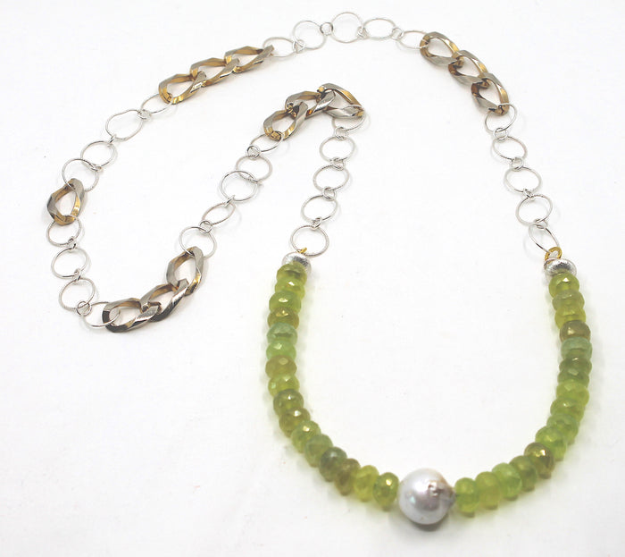 """Green Apple"" Necklace"