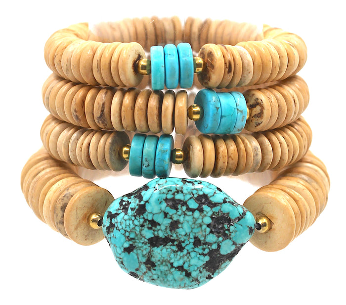 """Turquoise Tower"" Stack"