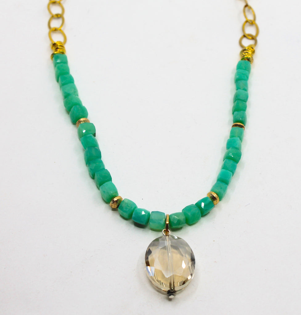 """Green Goddess"" Necklace"