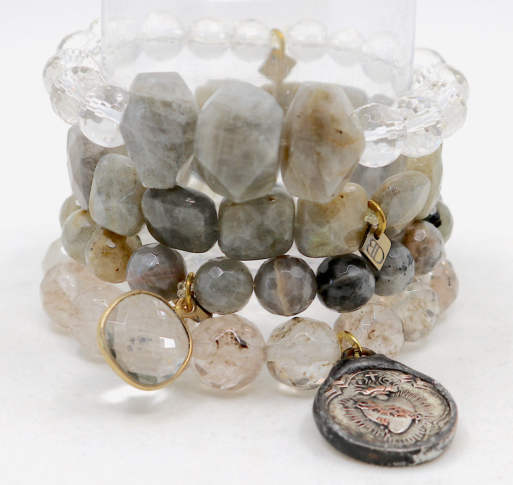 """Labradorite Love"" Stack SOLD"