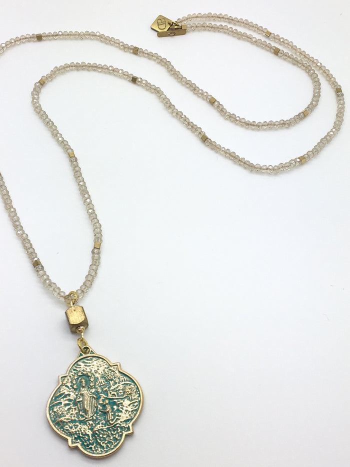 Luna Necklace (Champagne)