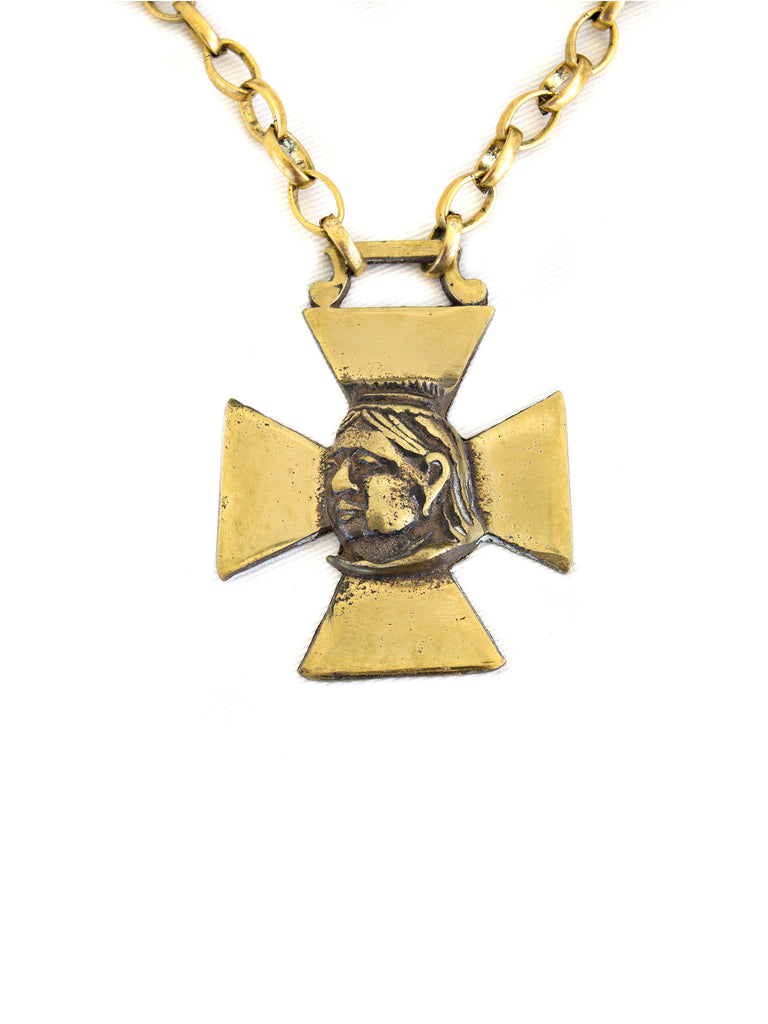 """Maltese Cross I"" Necklace - SOLD"