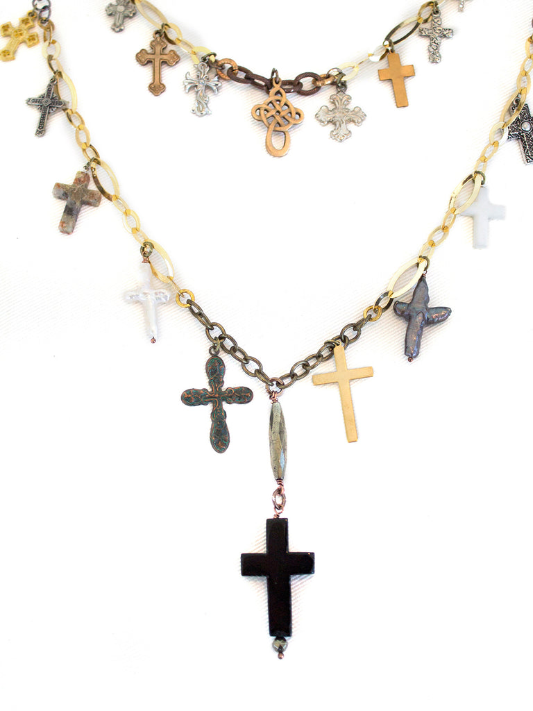 Floating Crosses V- SOLD