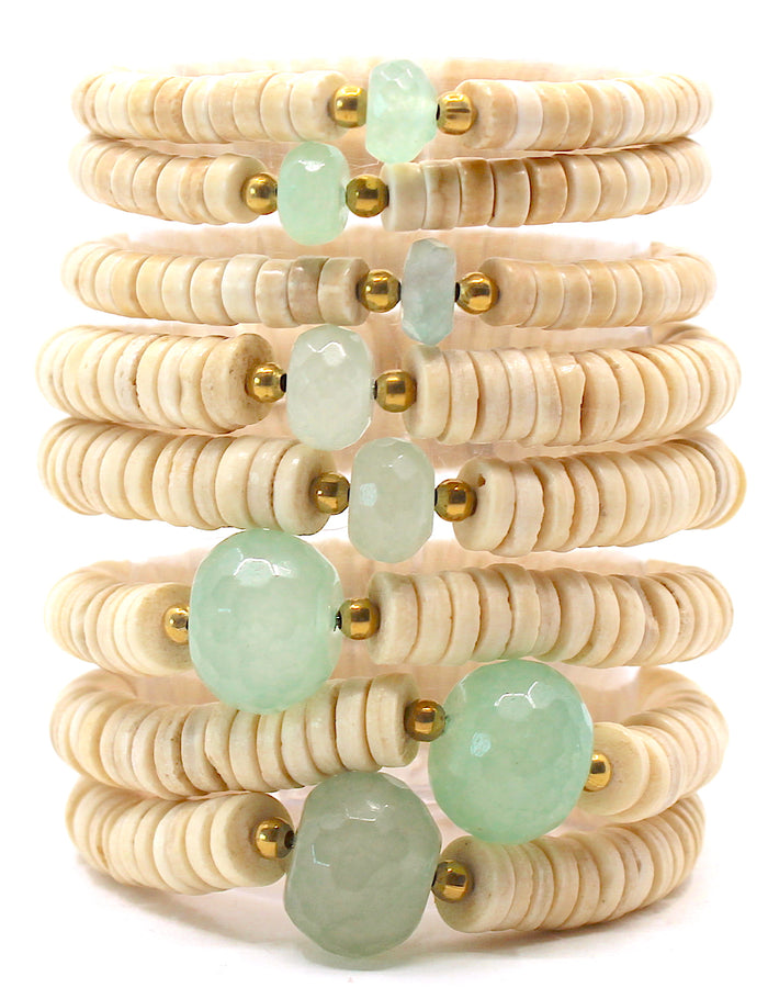 Island Collection(Seafoam Green) Blessings Bracelet™