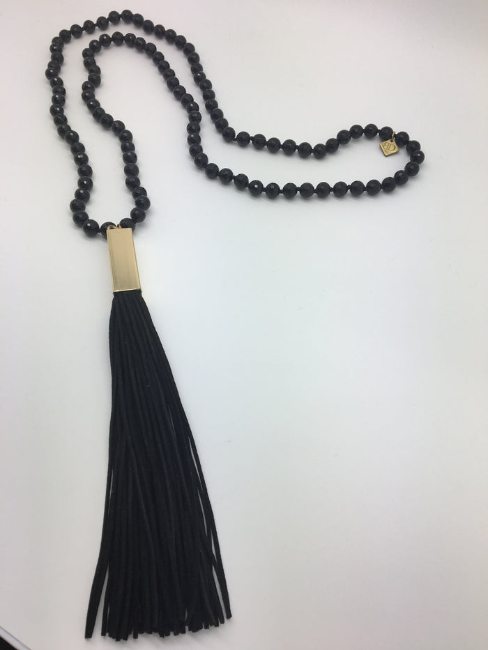Jess Necklace (Black)