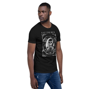 Eat The Rich - Black Unisex T-Shirt